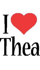 Thea i-love logo