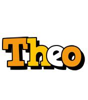 Theo cartoon logo