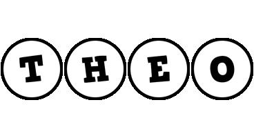 Theo handy logo