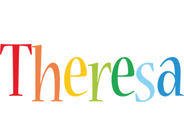 Theresa birthday logo