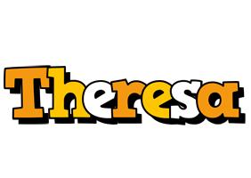 Theresa cartoon logo