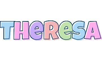 Theresa pastel logo
