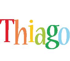 Thiago birthday logo