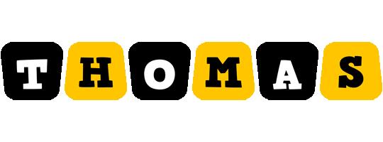 Thomas boots logo