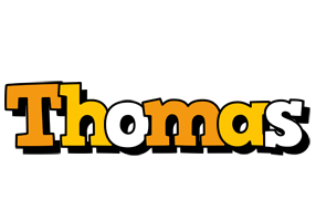 Thomas cartoon logo