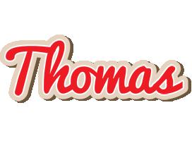 Thomas chocolate logo
