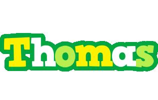 Thomas soccer logo