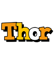 Thor cartoon logo