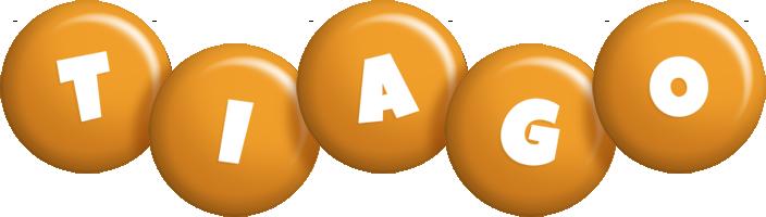 Tiago candy-orange logo