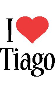 Tiago i-love logo