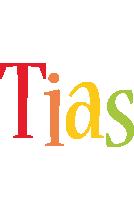 Tias birthday logo