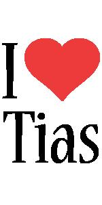 Tias i-love logo
