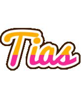 Tias smoothie logo