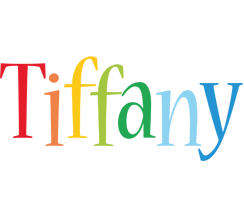 Tiffany birthday logo