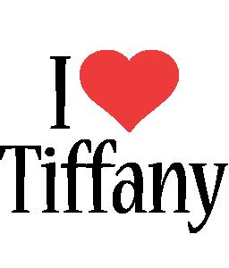 Tiffany i-love logo