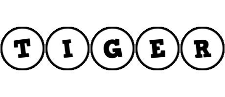 Tiger handy logo
