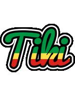 Tiki african logo