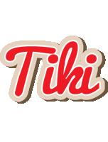 Tiki chocolate logo