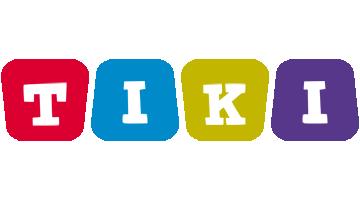 Tiki daycare logo