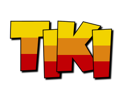 Tiki jungle logo