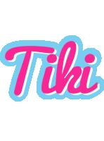 Tiki popstar logo