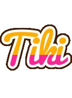 Tiki smoothie logo