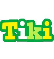 Tiki soccer logo