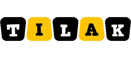 Tilak boots logo