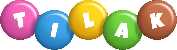 Tilak candy logo