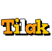 Tilak cartoon logo