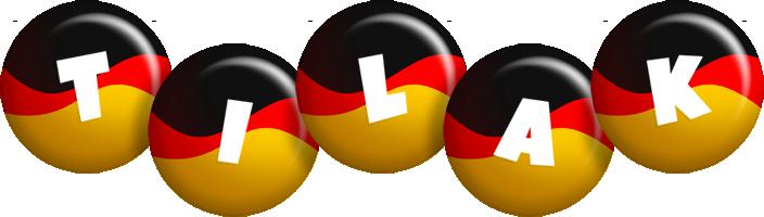 Tilak german logo