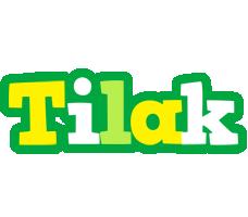 Tilak soccer logo