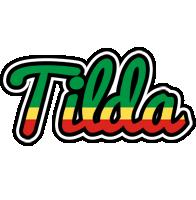 Tilda african logo