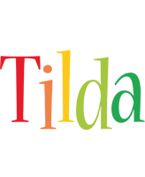 Tilda birthday logo