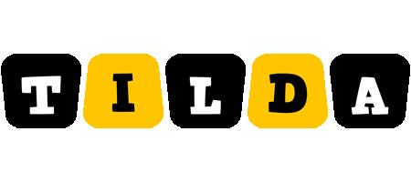 Tilda boots logo