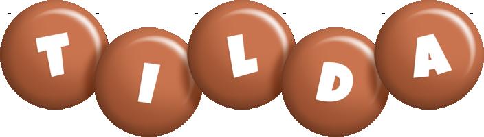 Tilda candy-brown logo