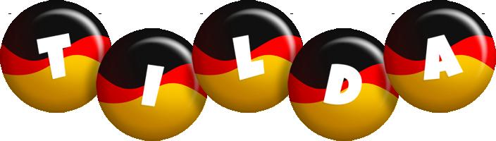 Tilda german logo