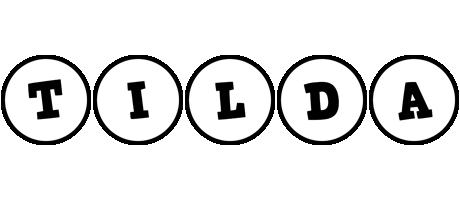 Tilda handy logo