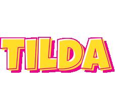 Tilda kaboom logo