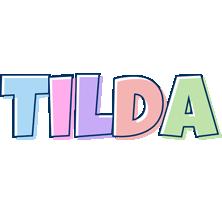 Tilda pastel logo