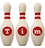 Tim bowling-pin logo