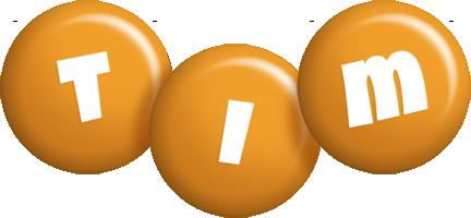 Tim candy-orange logo