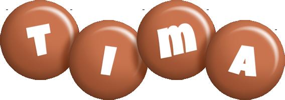 Tima candy-brown logo