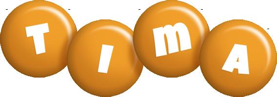 Tima candy-orange logo