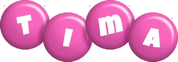 Tima candy-pink logo