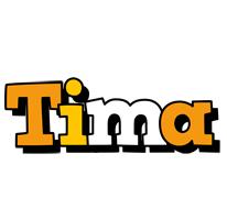 Tima cartoon logo
