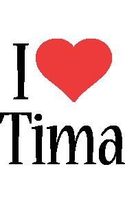 Tima i-love logo