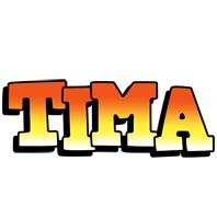 Tima sunset logo