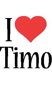 Timo i-love logo