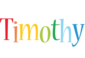 Timothy birthday logo